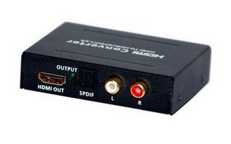Amplificador hdmi y convrsores audio a spdif y rca estereo for Amplificador tv cable coaxial