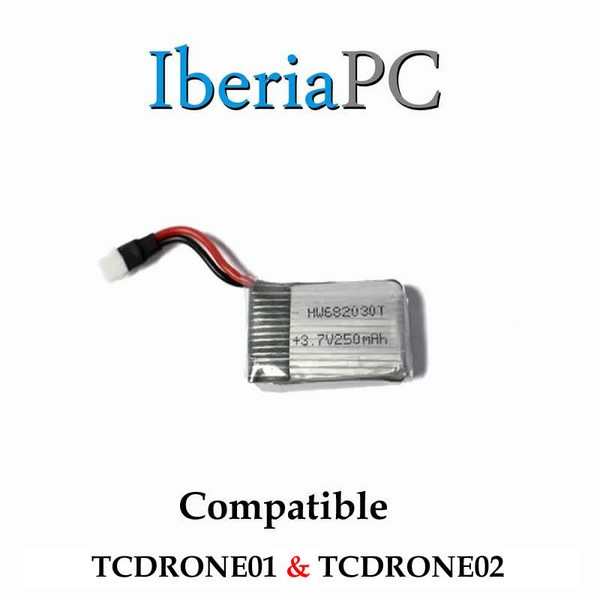 Bateria compatible TCDRONE01 yTCDRONE02