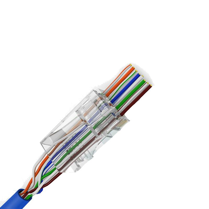 10u CONECTORES UTP CAT6 FACIL